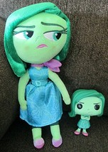 Disney Store Disgust Plush & Funko Disgust #134 From Inside Out - $14.84