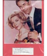 Martin Landau matted signed card, Mission Impossible. Nice sig !! - $28.95