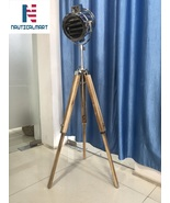 Beautiful Floor Lamp Vintage Model Theme Spotlight Tripod Searchlight  - $179.00