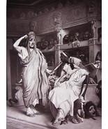 TWO COMEDIANS by Jean Leon Gerome - Original Goupil 1879 Photograph - $19.80