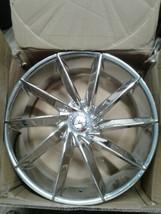 "Cavallo Wheels CLV-10 Chrome 22""X9.5 CUSTOM WHEEL RIM (1 Wheel) (jew) image 2"
