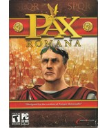 Pax Romana Rome Simulation (PC, 2003) Game - Windows 98 ME 2000 XP - $15.84