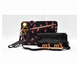 NWT!! Hammitt Nash Party G R Zip with Dustbag Two Straps RARE clutch cro... - $159.99