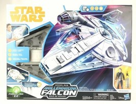 Star Wars Force Link 2.0 Kessel Run Millennium Falcon with Han Solo Figure NEW - $84.10