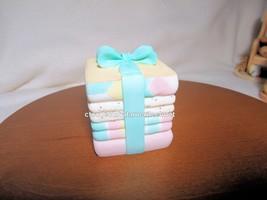 Cherished Teddies Covered Box Birthday Age Baby 2001NIB - $28.66