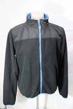 Aeropostale, Fleece Jacket, Size L - Black with Blue trim - $10.68