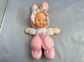 "Fisher Price Puffalump Kids Plush Doll 12"" Pink Bunny Ears Baby Lovey Bl... - $26.39"
