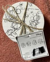 4 Disney Sketchbook Character Absorbent Stone Coasters Cork Bottoms New ... - $25.96
