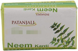 Patanjali Kanti Neem Body Cleanser Soap, 75 gm pack - $5.23