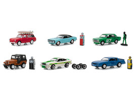 """The Hobby Shop\"" Series 5, Set of 6 Cars 1/64 Diecast Models by Greenl... - $52.78"