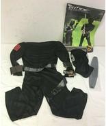 GI Joe Snake Eyes Boy's Costume Small 4 - 6 - $13.56