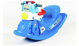 Little Tikes Police Cycle Rocker Complete With The Traditional Siren Sou... - $89.08