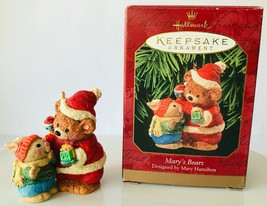 Hallmark Mary's Bears Season for Sharing Christmas Holiday Ornament 1999... - $14.50