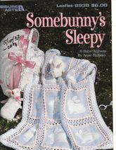 Somebunny's Sleepy Afghans for Babies 6 Crochet Designs Anne Halliday - $12.00