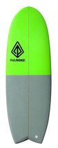 "Paragon Mini Simmons 5'6"" Green-Gray Surfboard - $400.00"