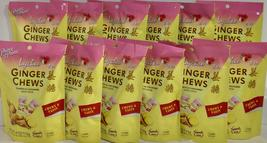Prince of Peace Ginger Chews Candy with Lychee 4 oz ( Pack of 12 ) - $39.59