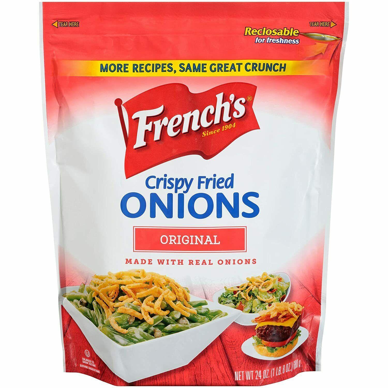 French's Crispy Fried Onions, 24 oz - $8.42
