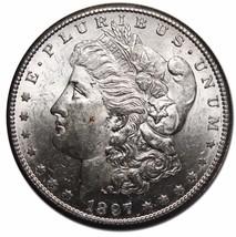 1897S MORGAN SILVER $1 DOLLAR Coin Lot# EA 87