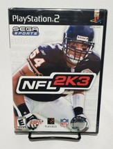 NFL 2K3 PS2 Sony Playstation 2 New Factory Sealed Sega Sports Football - $39.59