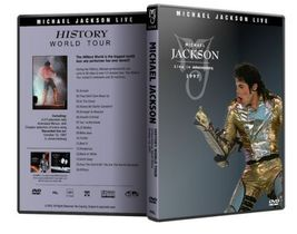 Michael Jackson : History Tour Live In and 50 similar items