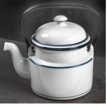 Teapot & Lid with Removable Top Handle Christianshavn Blue by DANSK Heig... - $46.74