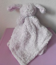 Blankets and Beyond Bunny Rabbit Purple Lavender Security Blanket Lovey ... - $39.58