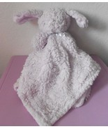 Blankets and Beyond Bunny Rabbit Purple Lavender Security Blanket Lovey Sherpa - $39.58