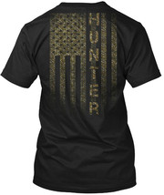 American Hunter Camo Flag Gildan Tee T-Shirt Cotton Crew neck For Men Wo... - $19.50