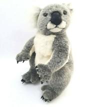 Vintage 1997 K & M Wild Republic Koala Bear Realistic Plush Stuffed Animal  - $18.46