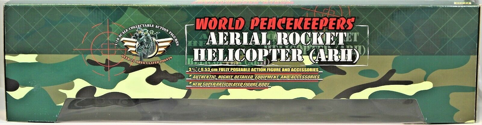World Peacekeepers Power Team Elite Aerial Rocket Helicopter (ARH) 1:18 Scale image 5