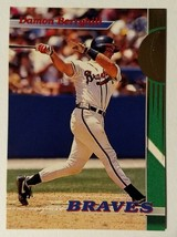 Damon Berryhill Atlanta Team Braves 1993 Topps Stadium Club #14 - Fast S... - $1.97