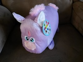 "Stackems Unicorn New Plush Stuffed Animal With Tags 14"" Sugar Loaf - $11.99"