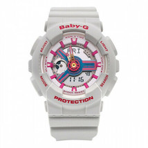 Casio Baby-G Neo Retro Colors BA-110NR-8A Grey Resin Band Watch - $105.75
