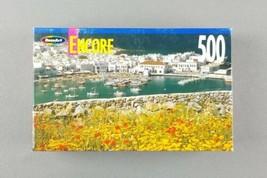 Mykonos Harbor, Greece RoseArt Encore 500 Piece Jigsaw Puzzle - NEW - $9.85