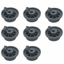 8 Dishwasher Lower Rack Wheel 165314 AP2802428 PS3439123 for Bosch Kenmo... - $14.99