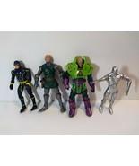Marvel Legends Cyclops Silver Surfer Dr Doom Lex Luther Figure 6'' Hasbr... - $44.55