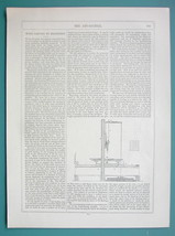 WOOD CARVINGS by Machinery - 1856 Article + Illustrations - $3.83
