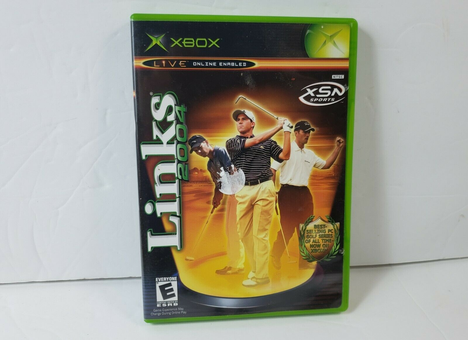 Links 2004 (Microsoft Xbox, 2003) - Complete w/ Game, Case & Manual - Tested