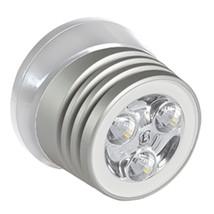 Lumitec Zephyr LED Spreader/Deck Light - Brushed White Base - White Non-Dimming - $116.49