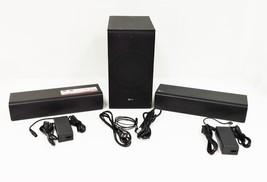 LG SJ7 Dual Speaker System/Wireless Subwoofer - Black - $184.99