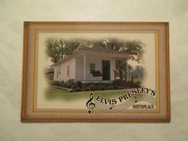 Elvis Presley Postcard Rock music Birthplace Continental size #107 - $5.99