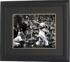 Duke Snider signed Dodgers B&W Batting 16x20 Photo Custom Framed - $154.95