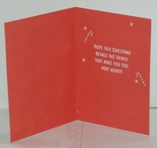 Hallmark XV 603-1 Santa Decorating Christmas Tree Card Package 2 image 2