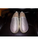 a.M Slip on Gold and Silver Design Size 6 Women's EUC - $33.21