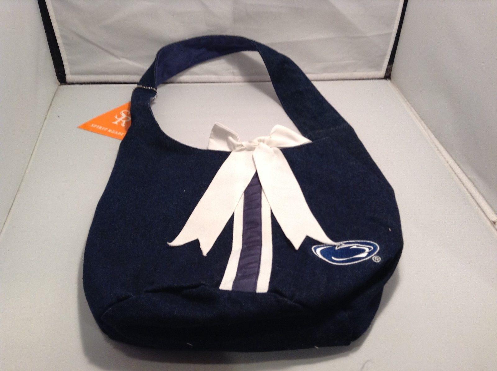 NEW Spirit Ready Denim Penn State Bucket Bag