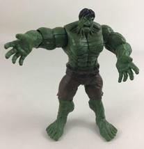 "Incredible Hulk Power Punch 6"" Figure Brown Pants Marvel Super Hero 2007 Hasbro - $19.56"