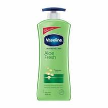 Vaseline Intensive Care Aloe Fresh Body Lotion, 400 ml - $27.10