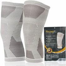MagnetRX® Magnetic Knee Compression Sleeve - (2-Pack) Knee Support X-LAR... - $47.27