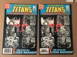 Tales Of The Teen Titans #42 DC Comic Book VF Direct & Newststand 1984 J... - $22.74
