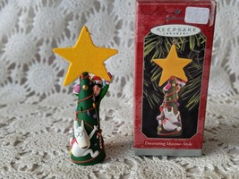 Hallmark Keepsake Decorating Maxine Style Christmas Ornament 1998 - $9.69
